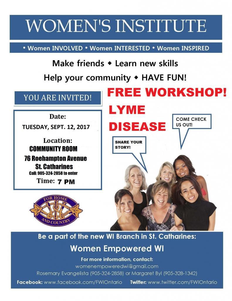 Women Empowered WI - St. Catharines - LYME DISEASE.jpg
