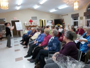 Glengarry District (Eastern Area), which is comprised of Bainsville WI and Picnic Grove WI, held a ROSE Session in November with involvement from the Canadian Mental Health Association.