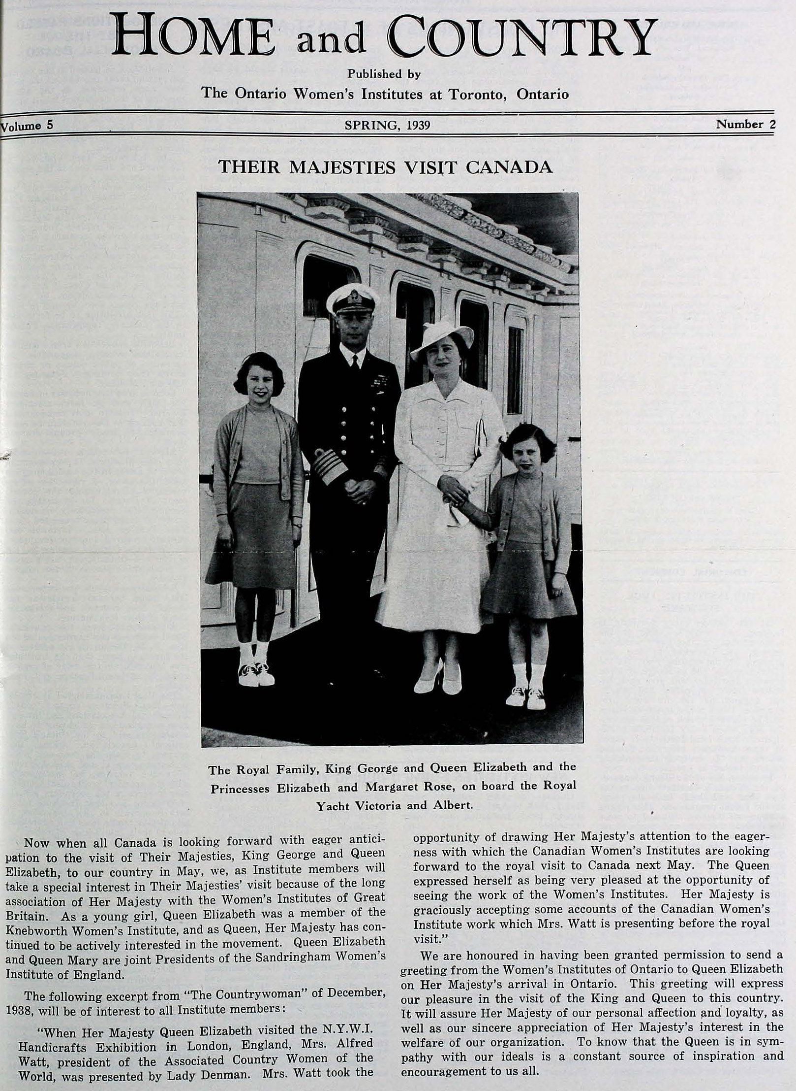 Their Majesties Visit to Canada 1939.jpg