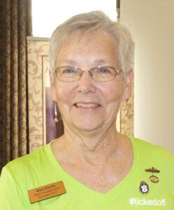 Mary Shortt, FWIO President 2019-2021